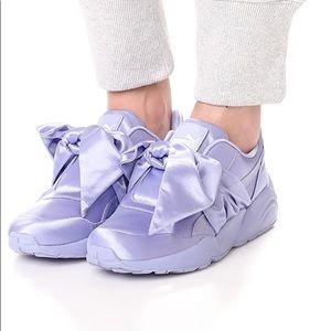 NWOT Puma x Rihanna Fenty Bow sneakers in lilac